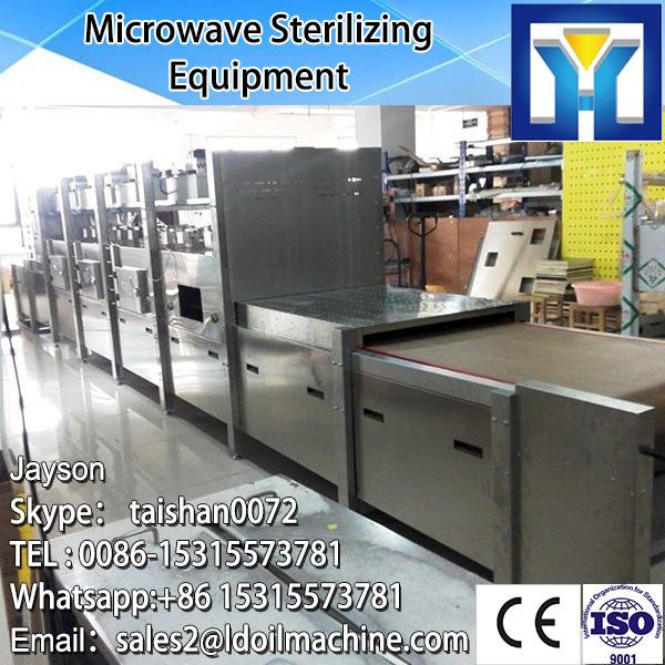 industriall microwave conveyor belt sterilizer/garlic onion powder sterilization system/rose tea sterilizing machine #2 image