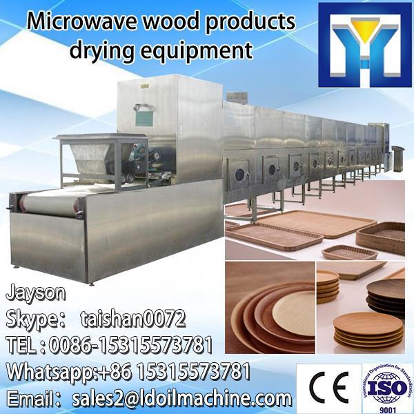 industriall microwave conveyor belt sterilizer/garlic onion powder sterilization system/rose tea sterilizing machine #5 image