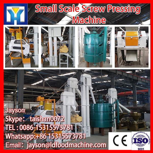 CE mark cold pressed peanut /soya/sunflower oil machine #1 image