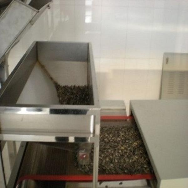 60KW big out put professional microwave tunnel type pistachios nuts roasting equipment #1 image