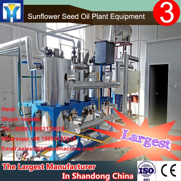 mini crude rapeseed oil refinery process with 1-10TPD #1 image