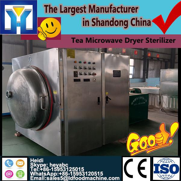 fresh tobacco leaves dehydration and sterilization machine /microwave oven #1 image
