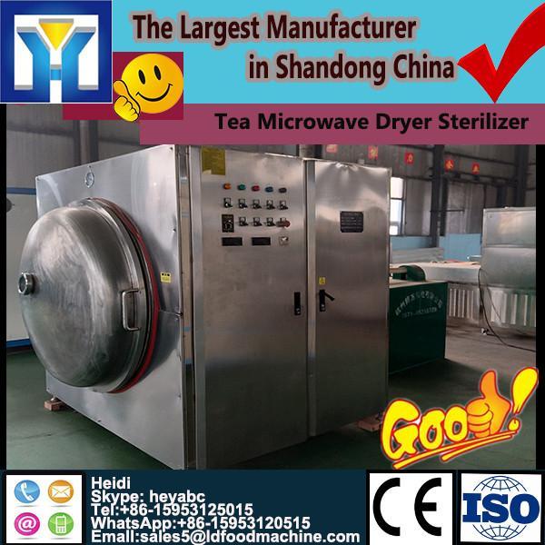 LD quality green tea/black tea / tea powder microwave drying sterilization equipment moisture <5%, keep green color #1 image