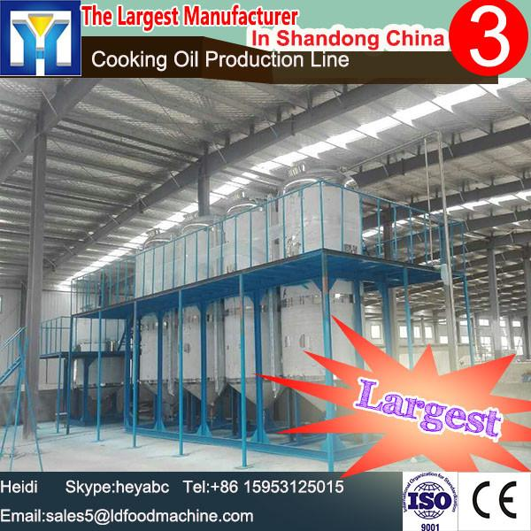 Supply machine to refine vegetable oil in vegetable oil refining plant soybean oil mill plant, soya oil refinery plant -LD #1 image