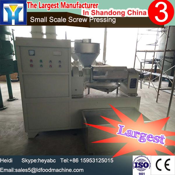 3-10T/D small size edible cooking oil refining machine with professional installation and training #1 image