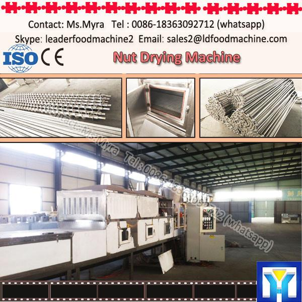 factory supply stainless steel nut drying machine/peanut dryer oven equipment #1 image