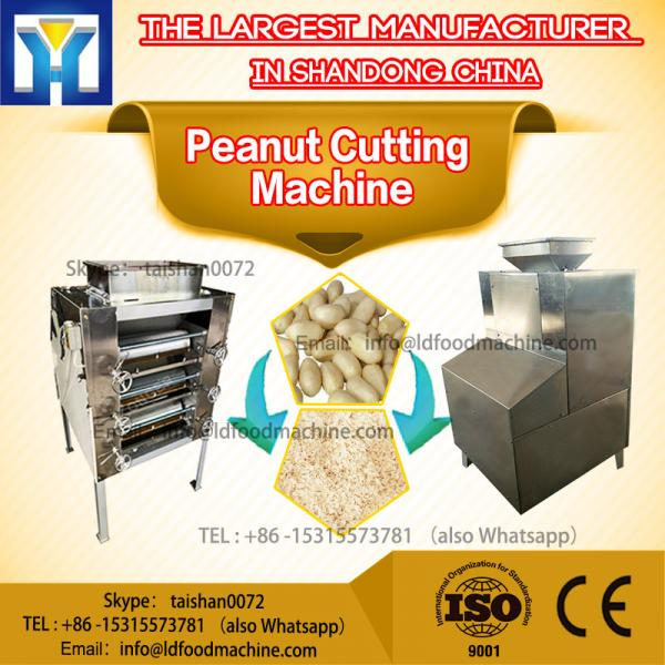 Industrial Electric Stainless Steel Peanut Cutting Machine 600rpm #1 image
