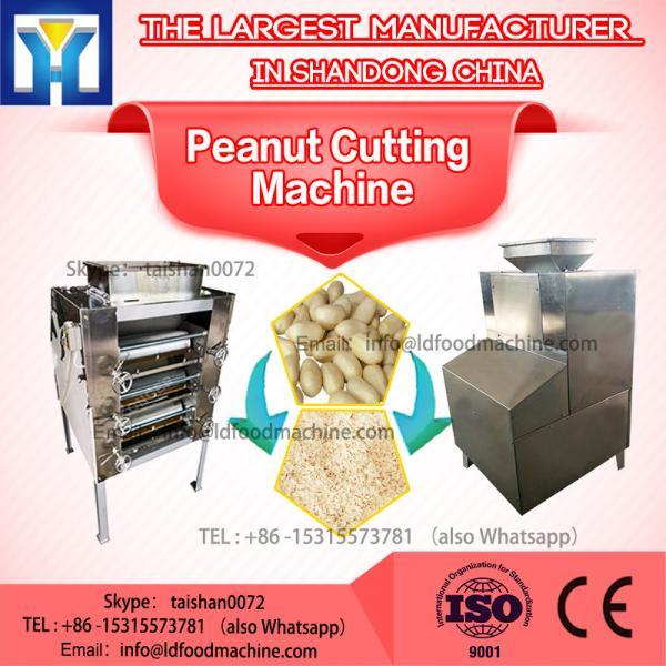 Peanut Mincing Machine / Small Piece Peanut Cutting Machine 200 - 400kg / h #1 image