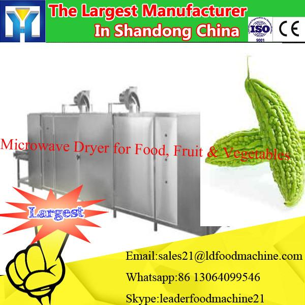 Tunnel microwave olive leaves drying machine/herb leaf dryer #2 image