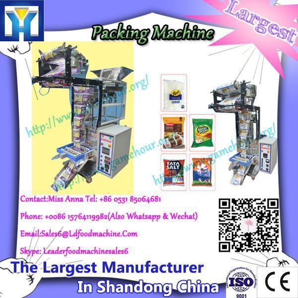 Certified standup bag zip filling machine #1 image
