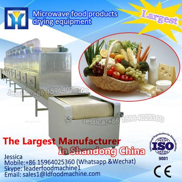 Industrial conveyor belt microwave rice meal heating machine #1 image