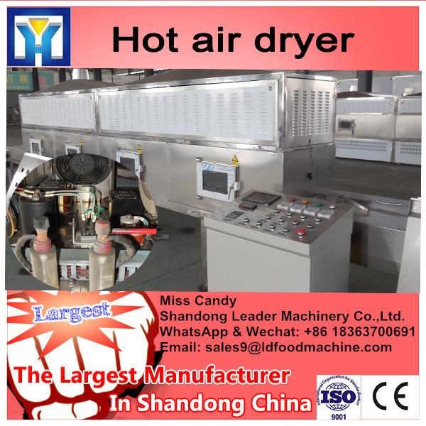 Moringa leaf Multiple layer continuous type belt dryer #3 image