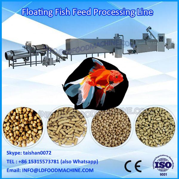 Innovative Desityed Dog Food,Fish Feed,Cat Food Extruder with Twin Screw #1 image